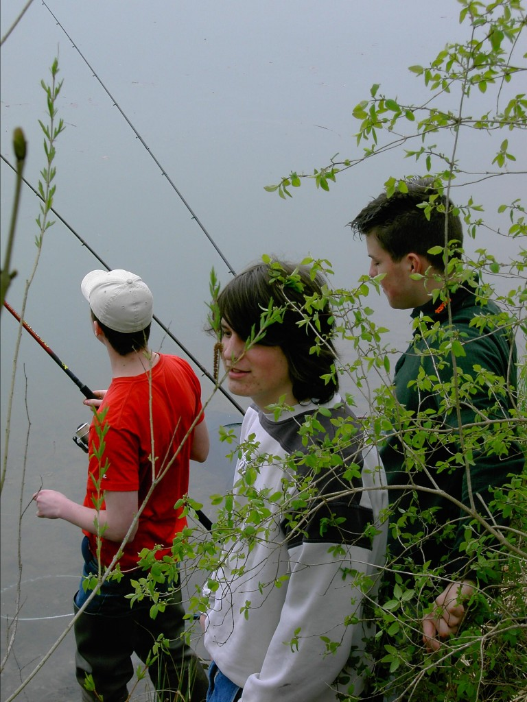 Arne, Marc und Michael erwarten ihren ersten Biss